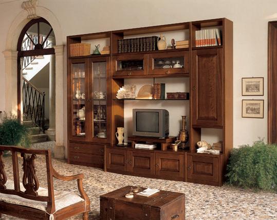 Soggiorni classici mobilificio la noce for Immagini di soggiorni