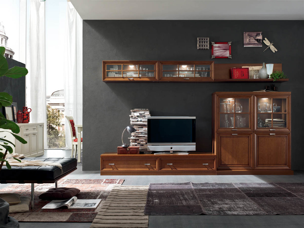 Soggiorni classici u2039 mobilificio la noce