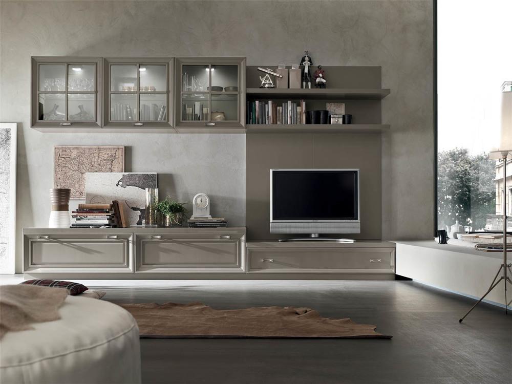 Soggiorni classici mobilificio la noce for Mobilificio online
