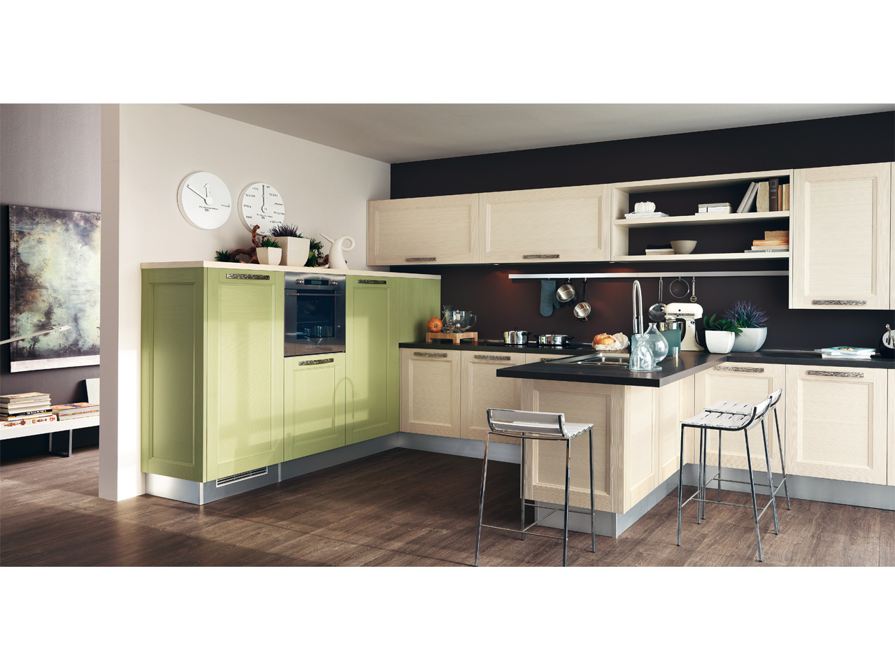 cucine moderne mobilificio la noce