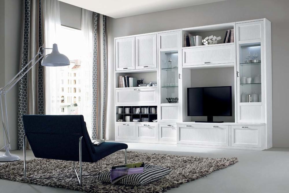 Soggiorni moderni mobilificio la noce - Arredo soggiorni moderni ...