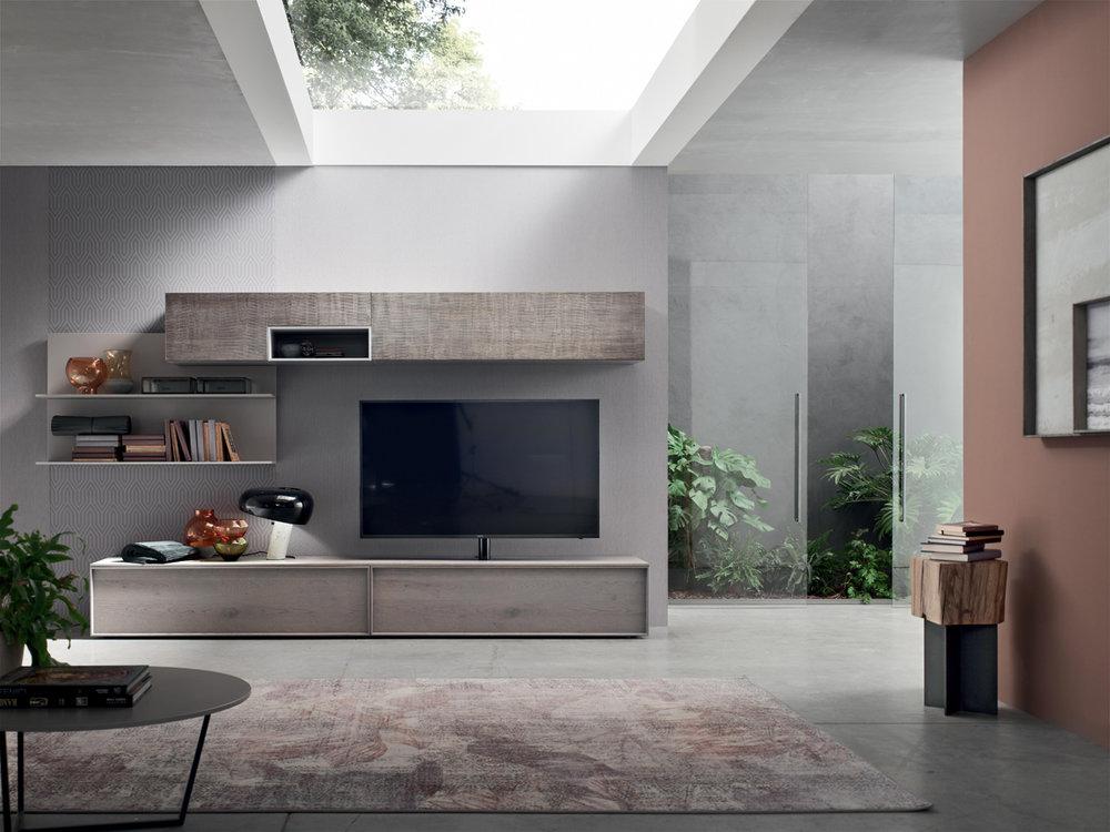 soggiorni moderni mobilificio la noce